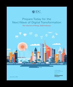 Omslag av rapporten Prepare Today for the Next Wave of Digital Transformation