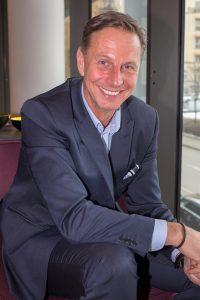 Richard Schumacher, chef för Aruba på HPE Sverige