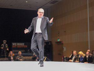 Matthias Roese, chefsteknolog inom tillverkning, fordon och IoT på HPE