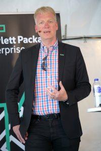 Patrik Nilsson, CTO, Hewlett Packard Enterprise och moderator i Almedalen