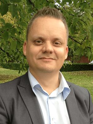 Lars Enström, lösningsarkitekt inom infrastruktur på HPE