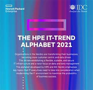 The HPE IT-trend Alphabet 2021